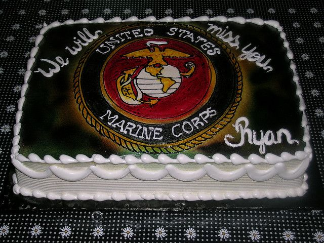 marine corps cake | Flickr - Photo Sharing!