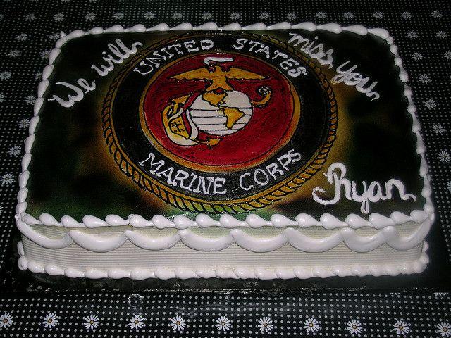 marine corps cake | Flickr - Photo Sharing!
