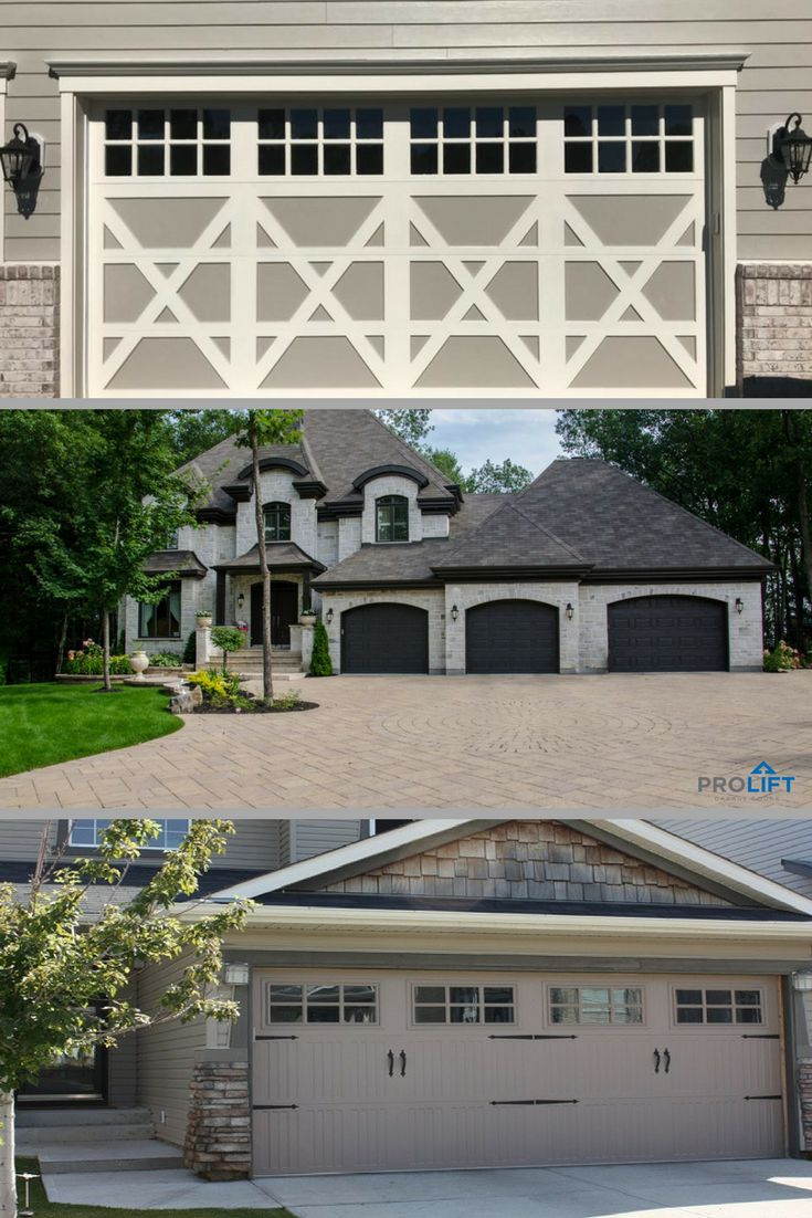 Best 25 garage door decorative hardware ideas on pinterest did you know that gray garage doors come in a variety of hues and styles from two toned carriage house doors to charcoal gray steel doors with raised rubansaba