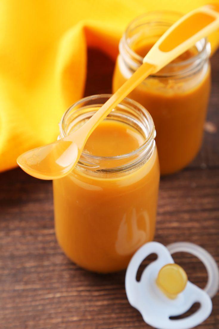 Príkrm pre dojčatá z karfiolu, zemiaku, mrkvy a jablka