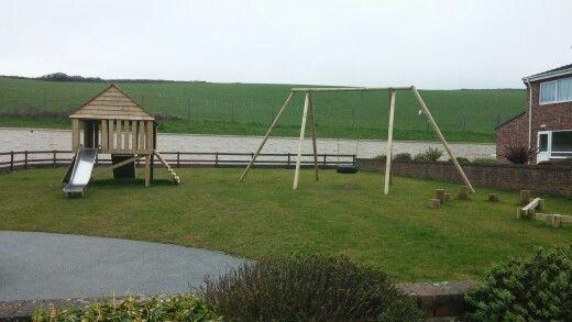 Playground for kids to enjoy!