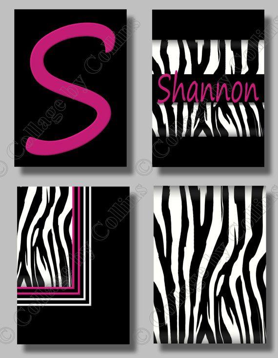 85 best images about zebra bedroom theme on pinterest for Zebra room decor walmart