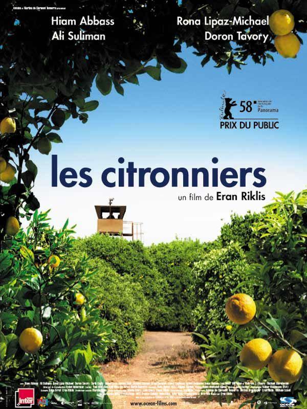 LES CITRONNIERS, de Eran Riklis, Ed. TF1 - 2013