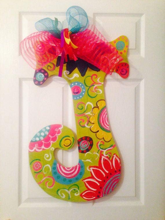 44 best Wooden Letters images on Pinterest Teachersu0027 day, Lyrics - healthcare door hanger