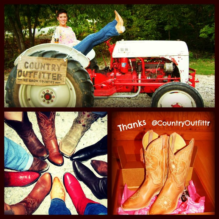 Country Outfitter Boot Giveaway from YOURS TRULY!