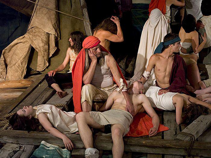 Adad Hannah, The Raft of the Medusa (100 Mile House)  2009,
