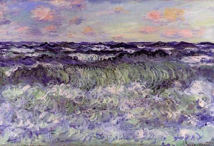 "silenceformysoul: "" Claude Monet - Sea Study, 1881 """