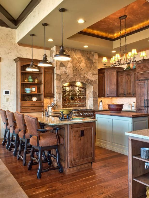 Rustic Lodge-Inspired Kitchen : Page 02 : Rooms : Home & Garden Television