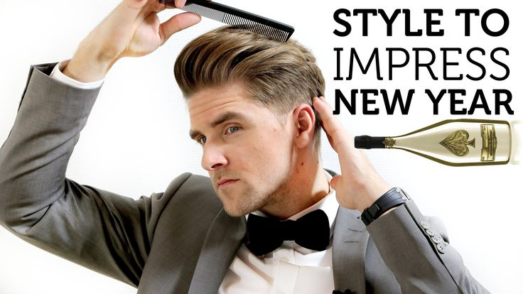 Men's Hair Inspiration for New Year 2015 |Style to Impress | Simple How...
