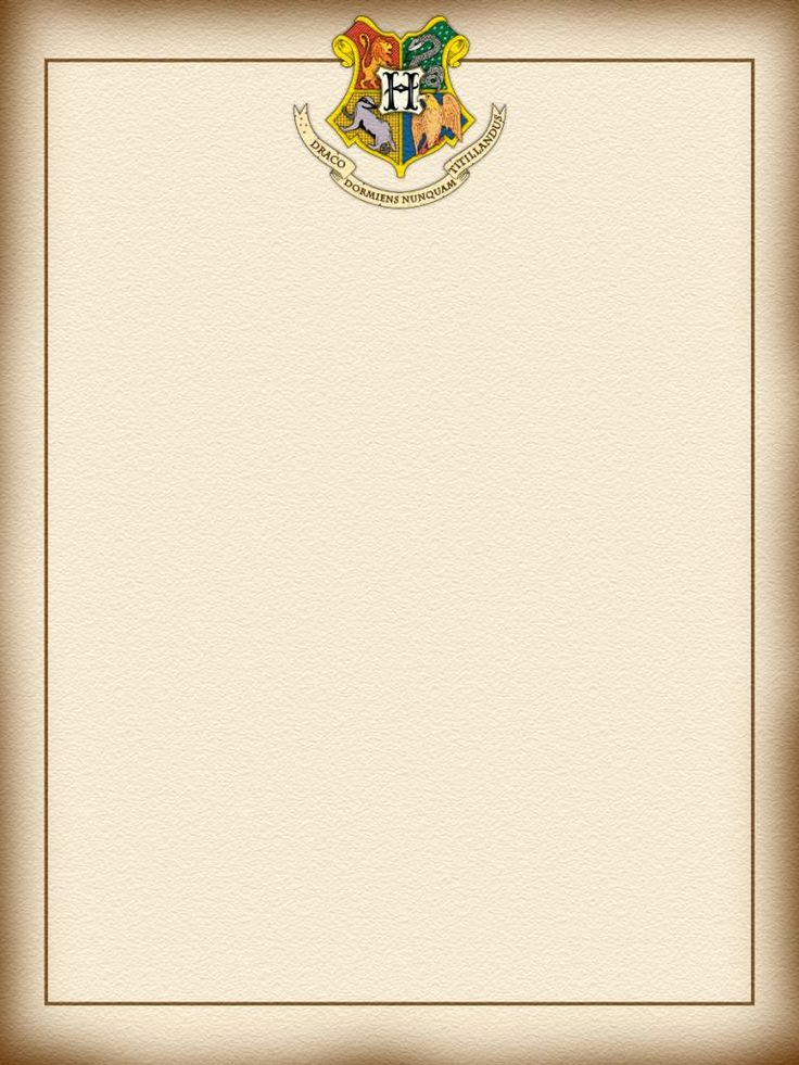 hogwarts letterhead images galleries. Black Bedroom Furniture Sets. Home Design Ideas