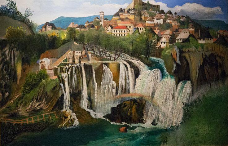 Wasserfall von Jajce (1903)
