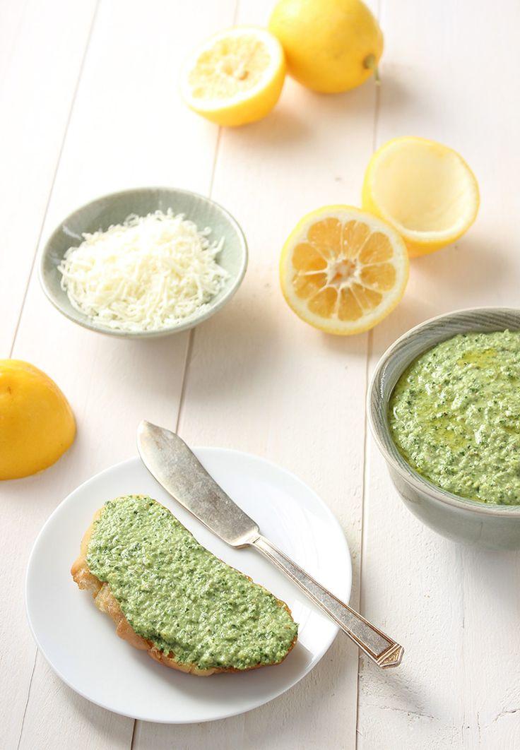 Meyer Lemon Basil Pesto