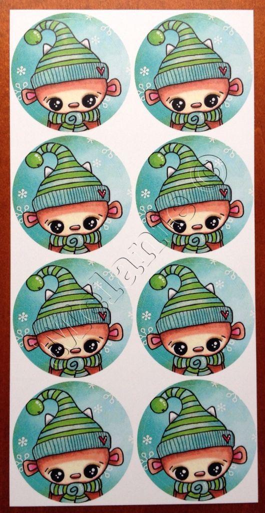 Doepa winter stickers 2