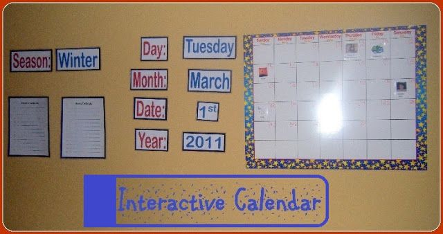 Kindergarten Calendar Interactive Whiteboard : Best images about meses del año on pinterest spanish