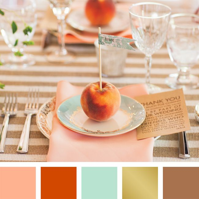 What Color Compliments Burnt Orange: 1000+ Images About Wedding Colors On Pinterest