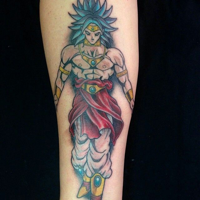 broly tattoo dbz tattoos pinterest tattoos and body art