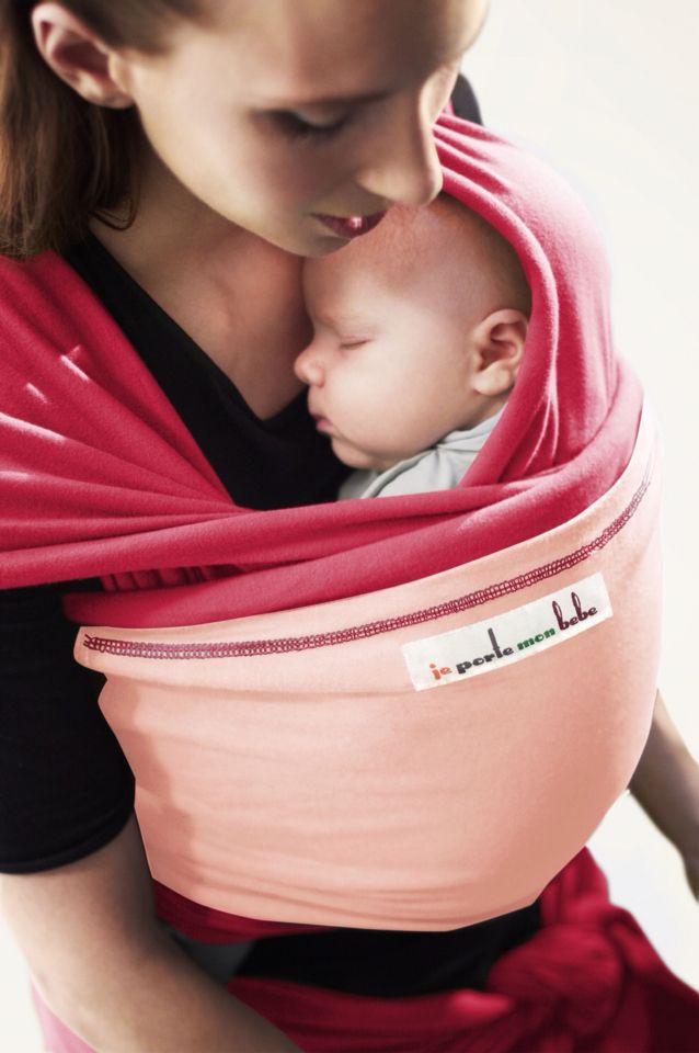 Echarpe porte bébé JPMBB. Sortez et mettez bébé facilement sans défaire le  noeud. Portage dés la naissance, devant, au dos et sur le côté. 06e355bf371