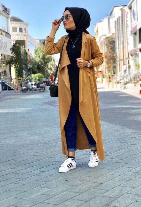Les 25 meilleures id es de la cat gorie mode hijab sur pinterest mode musulmane styles de - Pinterest mode femme ...