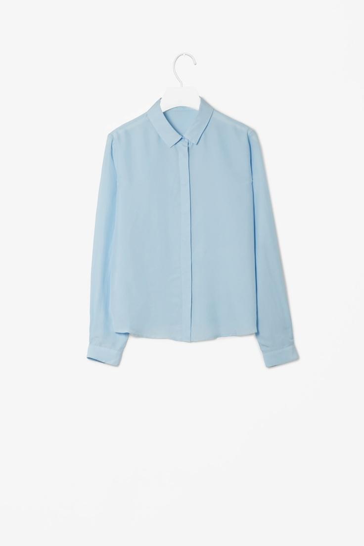 COS Silk shirt