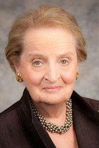 On this day in 1937, Madeleine Albright, America's first female secretary of state, is born in Prague, Czechoslovakia. Happy Birthday to an amazing person who left a legacy in statecraft, and is an inspiration to women everywhere.