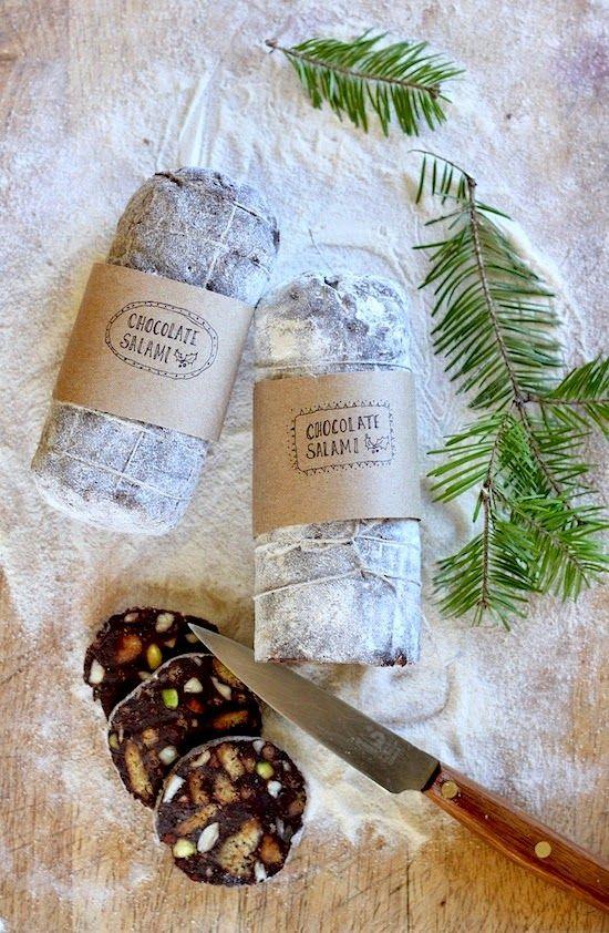 Kitchen Vignettes by Aubergine: Chocolate Salami!