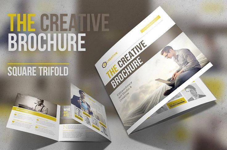 25 Best 25 Creative Square Brochure Templates Psdaiindesign