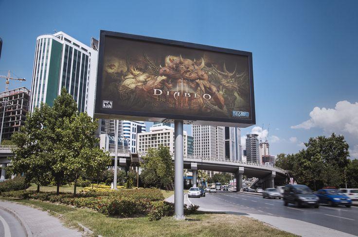 Campaña lanzamiento de expansión ficticia del juego Diablo III