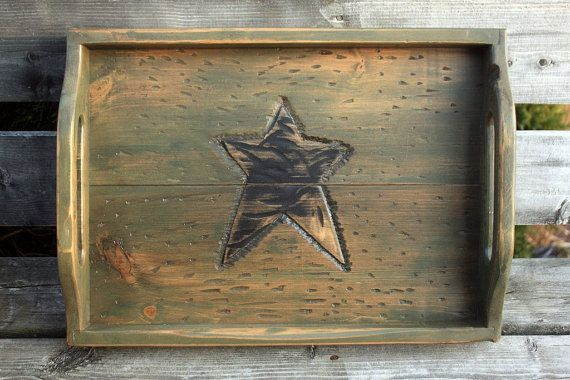 Hey, I found this really awesome Etsy listing at https://www.etsy.com/listing/96257495/rustic-handmade-wooden-serving-tray