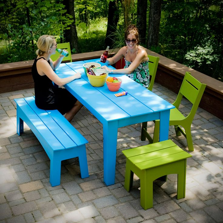 "47"" Picnic Bench for the Modern Lollygagger 
