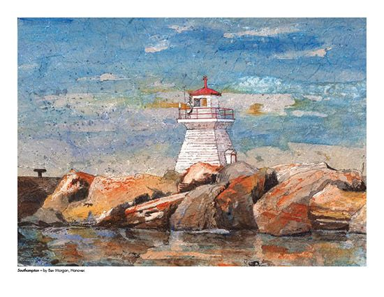 2015 Landscape Calendar | The Art Map Southampton by Bev Morgan - May