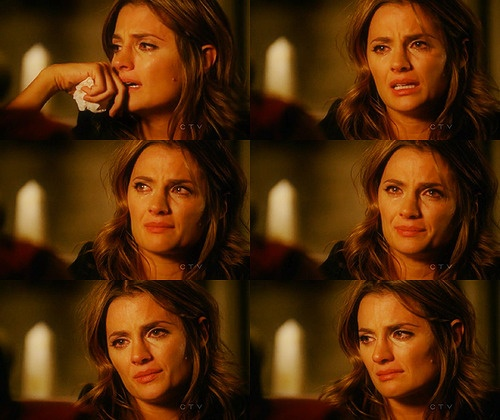 """He is an immature, egotistical, self-centered jackass sometimes… But he's not this."" She made me cry during this scene. It was brilliant.: Castles Beckett Heat, Castles Disorders, Brilliant Scene, Castles Crazy, Obsession Castles, Frames Castles, Castles 3, Castles Editing, Richard Castles"