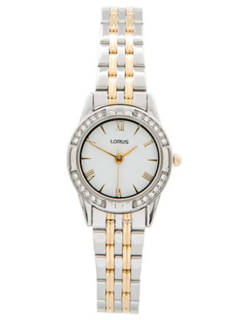 Ladies Two Tone Stainless Steel