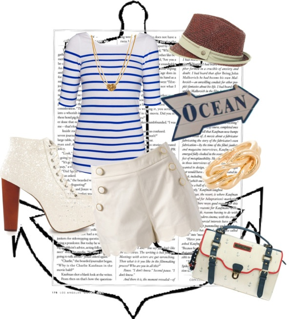 """Nautical Summer"" by tomodel on Polyvore"