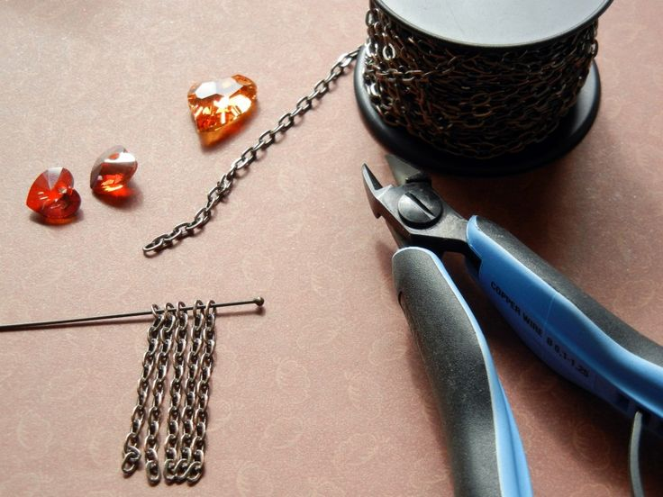 Quick tip: how to cut equal chain lengths #wire #jewelry #tutorial