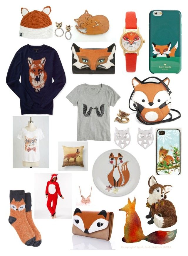 """Fox"" by rose34010 ❤ liked on Polyvore featuring Target, Kate Spade, Krochet Kids, Crate and Barrel, Samsung, Lady Fox, Liquorish, J.Crew, PJ Couture and Palm Beach Jewelry"