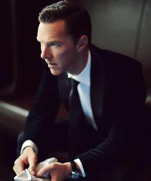 Benedict Cumberbatch photographed by ChenMan for Grazia China