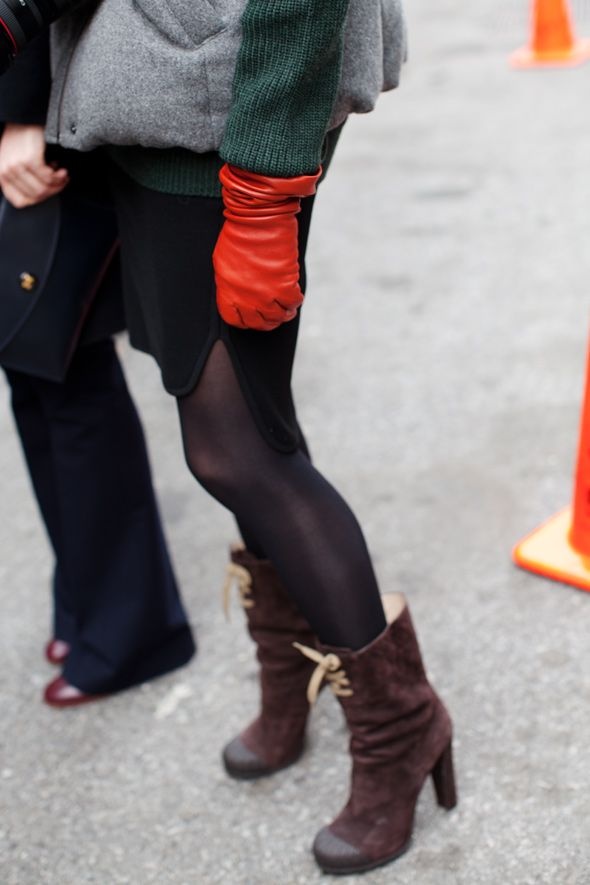 NY Fashion Week... awesome boots