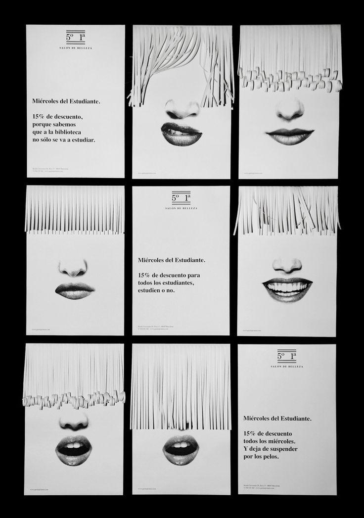 5°1ª Salón de belleza student special posters