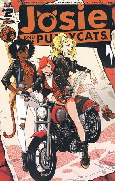 Cover for Josie and the Pussycats (Archie, 2016 series) #2 [Cover B Rebekah Isaacs]