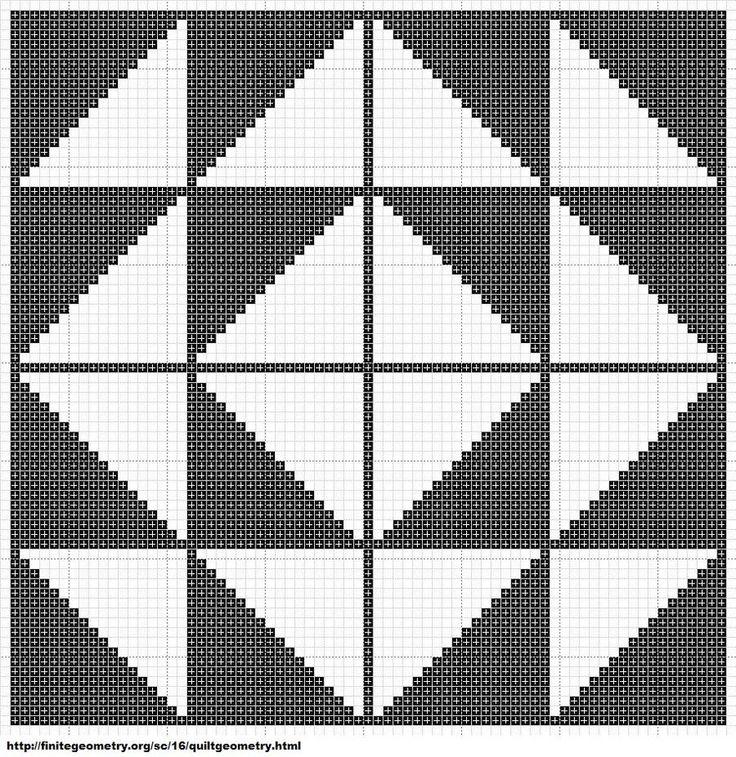 Free Cross Stitch Geometric Pattern 8 by ~carand88 on deviantART