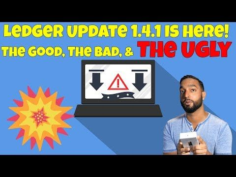 Ledger Nano S Update 1.4.1 Release Bring Chaos / Brazil Tokenizing Real on Ethereum / DashBoost Beta   Thank You Very Much For Coming By For Your Daily Fix Of Crypto News: Bitcoin Ethereum & More Altcoin News TODAY! Don't forget to smash those LIKE & SUBSCRIBE buttons :D Become a Crypt0's News Patron & Get Access To Our Exclusive Telegram Group: http://ift.tt/2vDXHXD Join Our Livestreams By Subscribing Here: https://www.youtube.com/channel/UCwU0FQ64SN1AjLI5hik-MZQ Check Out Our New Crypt0's…