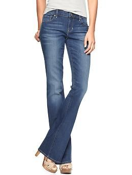 SP2014 1969 sexy boot jeans (md wash-sz 4) | Gap $69.95