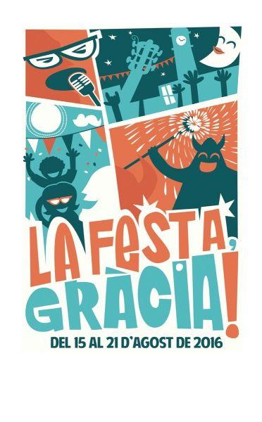 Cartell oficial de la Festa Major de Gràcia