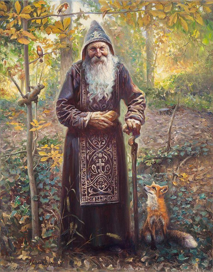 The Old Recluse by Petar Meseldžija