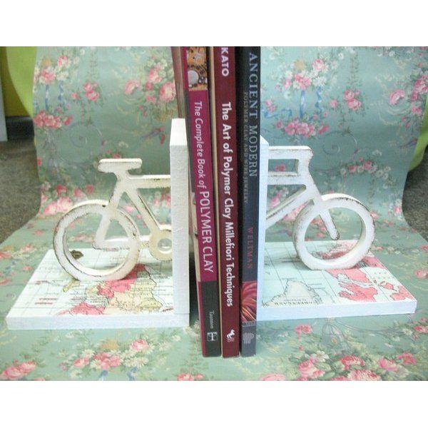 Держатель для книг Велосипед