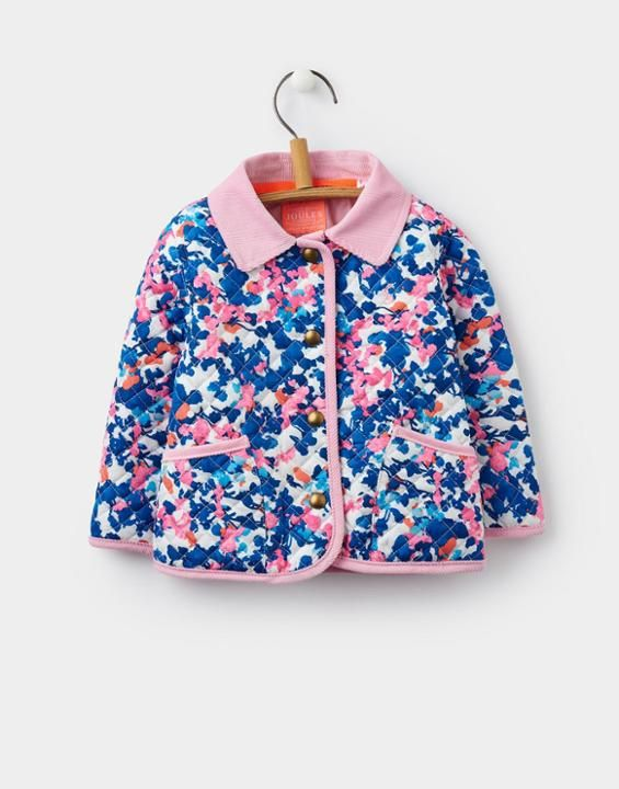 Joules Mabel ToddlerGirls Quilted Jacket