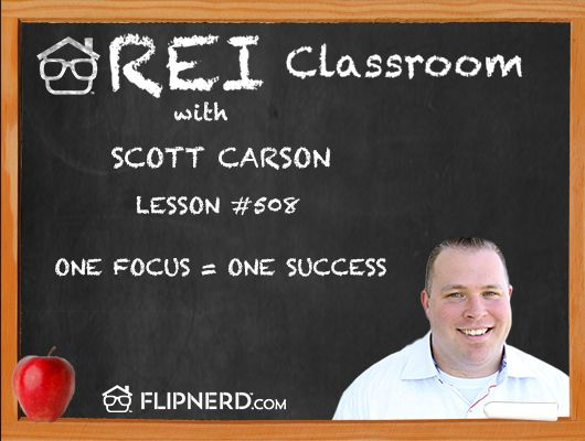 Scott Carson goes over how success entrepreneurs focus on 1 thing at a time instead of spreading themselves too thin. Get one idea up and running before moving on to the next great idea.