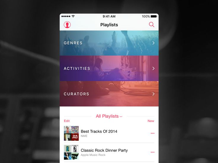 Apple Music - playlists