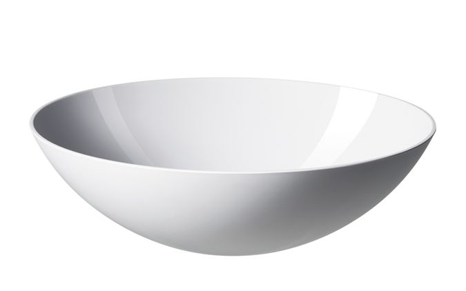 White Krenit Bowl Ø28 cm   A modern classic by Normann Copenhagen