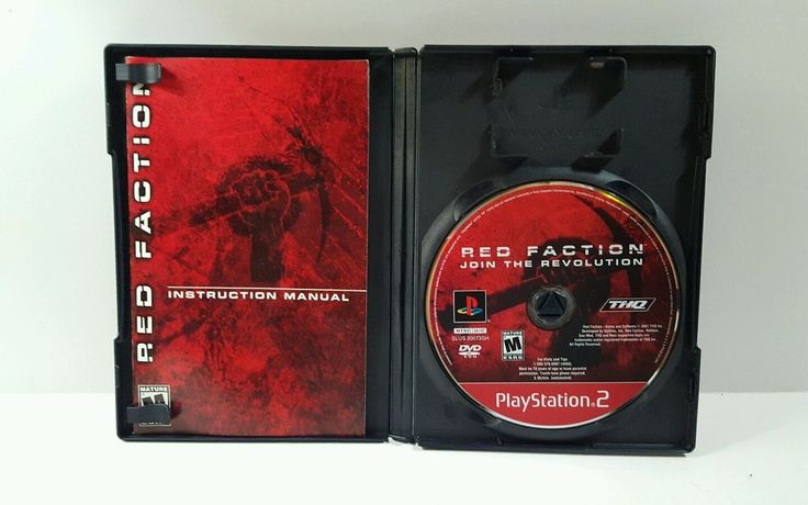 Red Faction Greatest Hits (Sony PlayStation 2, 2002) complete